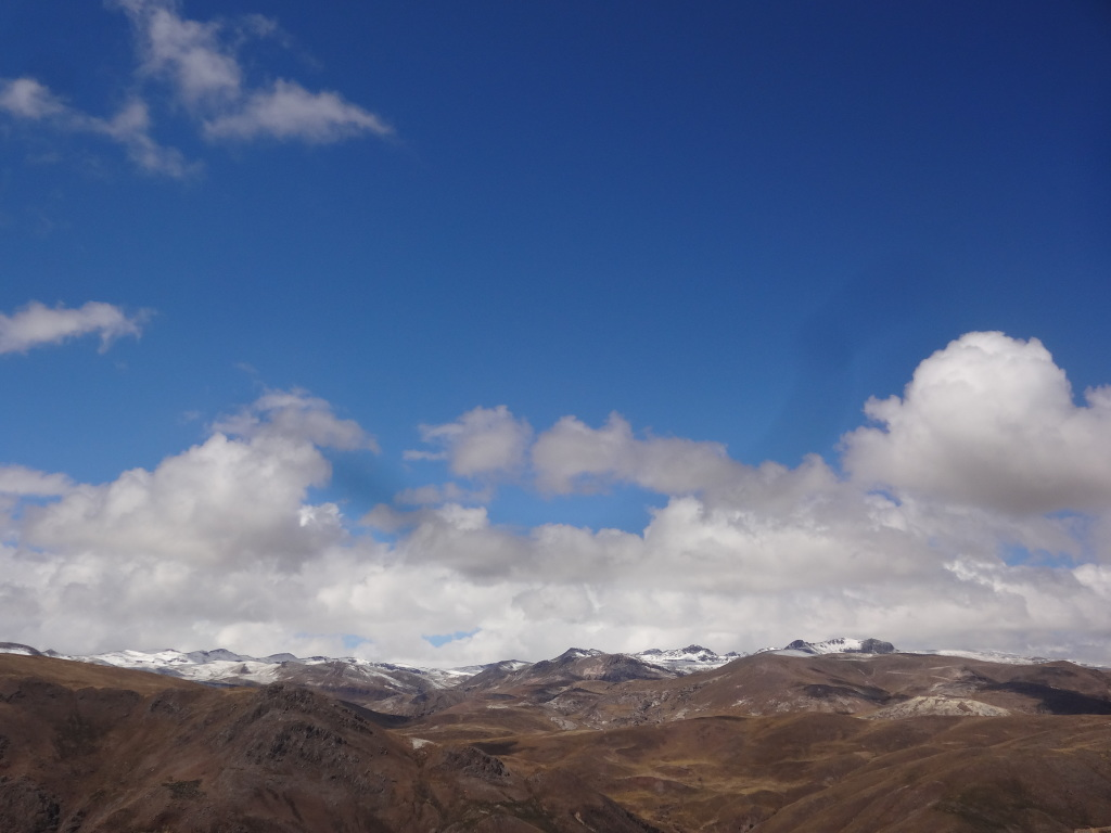 The view from up, just outside of Promesa, Peru