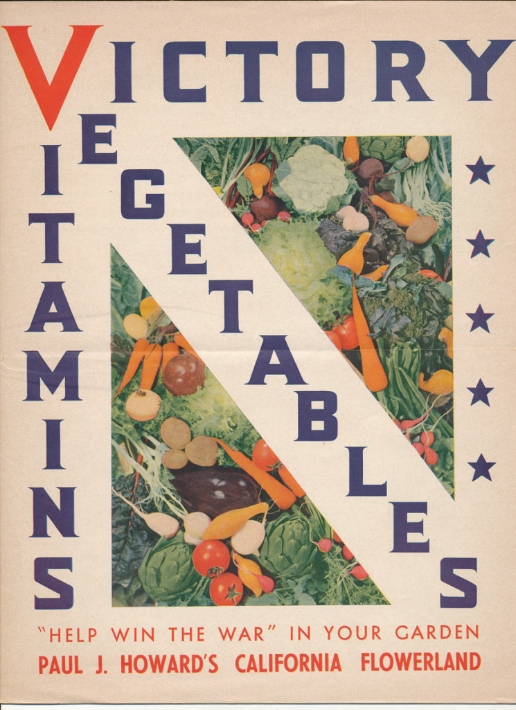 v for victory vitams veg